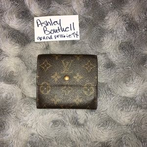 Authentic LV Portefeiulle Elise Trifold Wallet